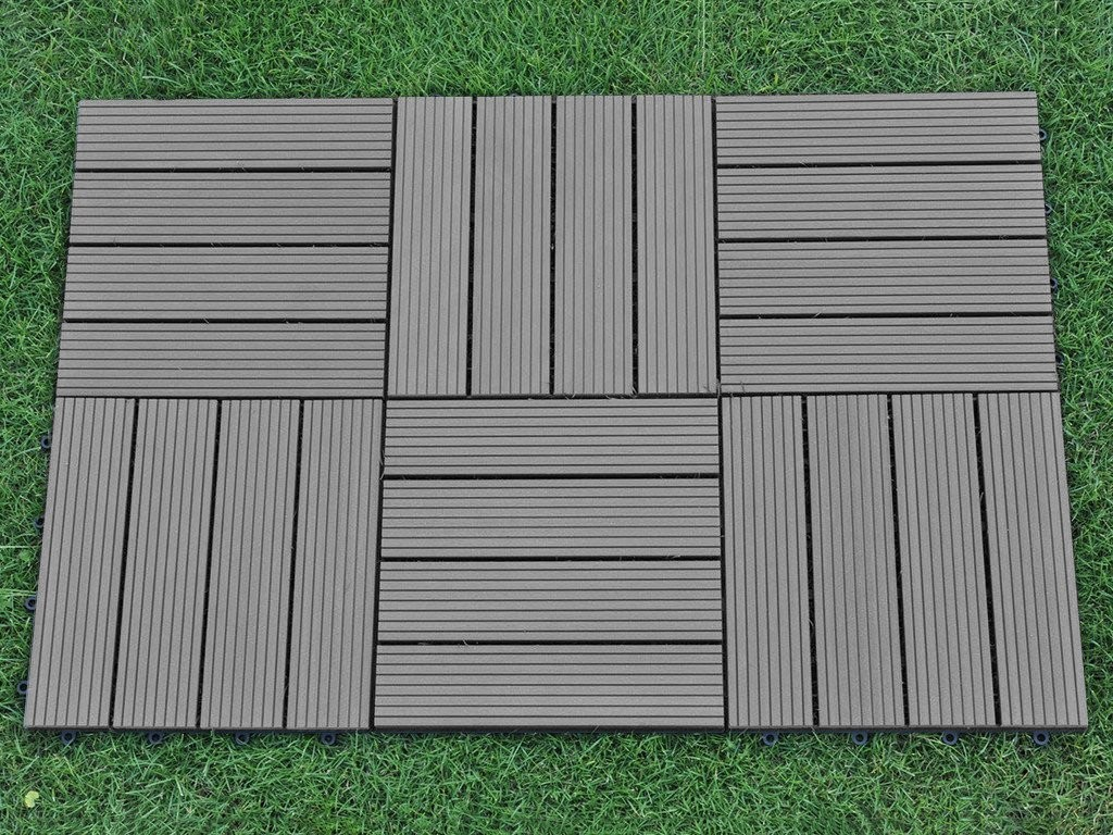 Deck Tiles For A Diy Project With No, Outdoor Interlocking Tiles For Grass